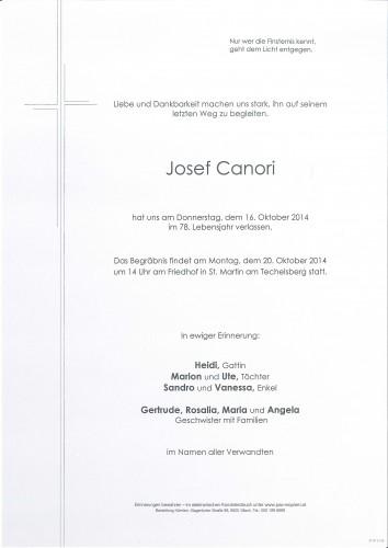 Josef Canori