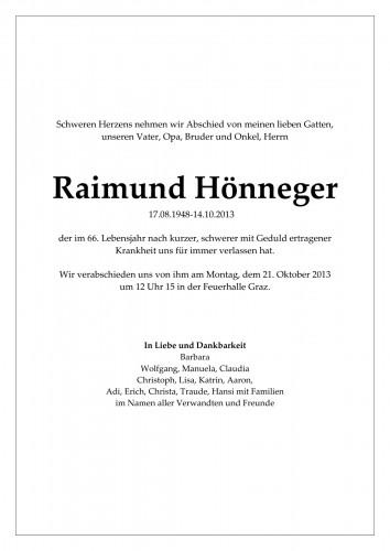 Raimund Hönneger