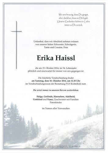Erika Haissl
