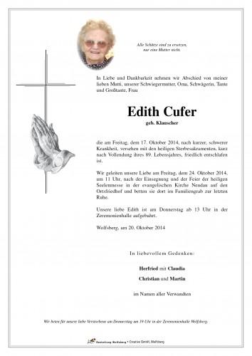 Edith Cufer