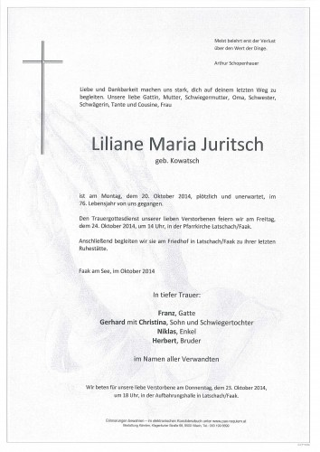 Liliane Maria Juritsch