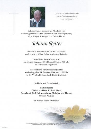 Johann Reiter
