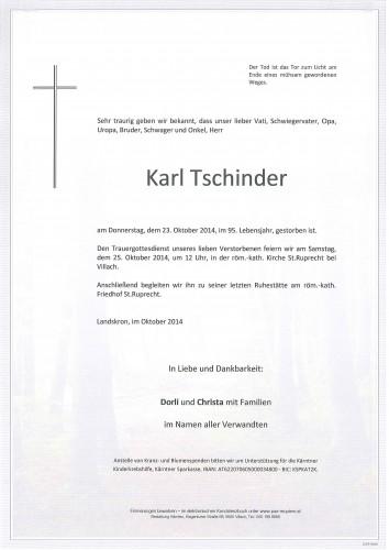 Karl Tschinder