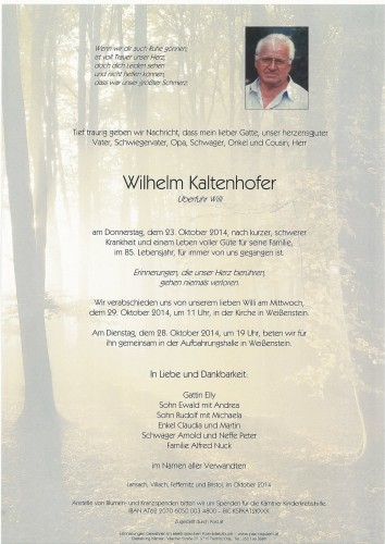 Wilhelm Kaltenhofer