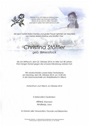 Christina Stöffler