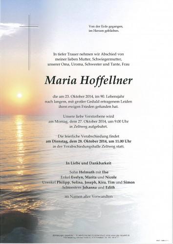 Maria Hoffellner