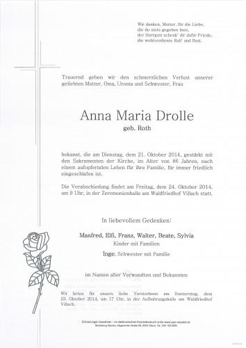 Anna Maria Drolle