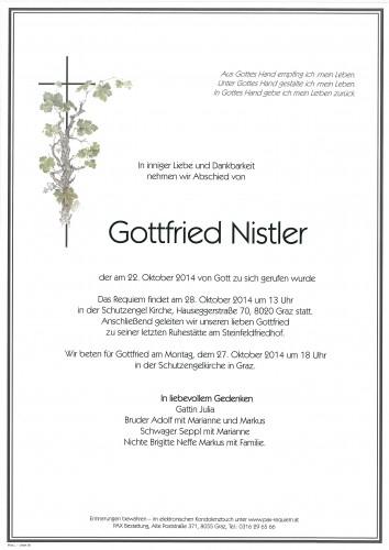Gottfried Nistler