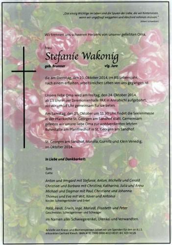 Stefanie Wakonig