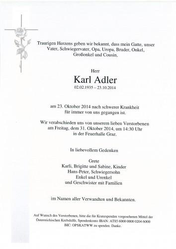 Karl Adler