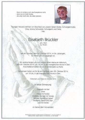 Elisabeth Brückler