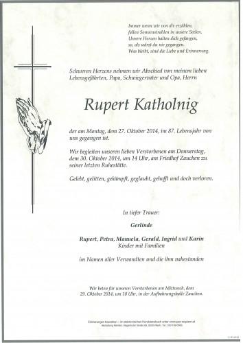 Rupert Katholnig