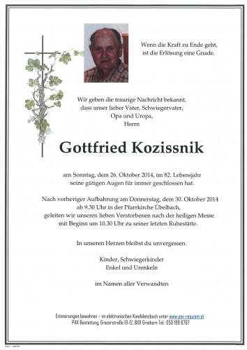 Gottfried Kozissnik