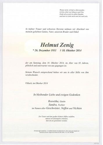 Helmut Zenig