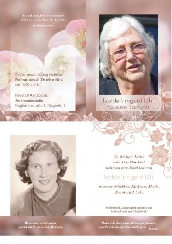 Isolde Irmgard Uhl