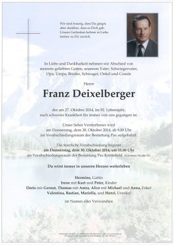 Franz Deixelberger