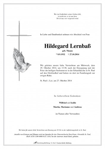 Hildegard Lernbaß