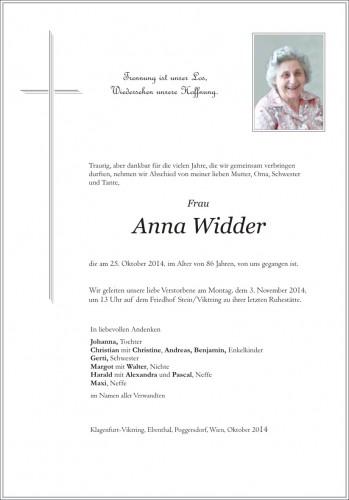 Anna Widder