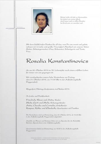 Rosalia Konstantinovics