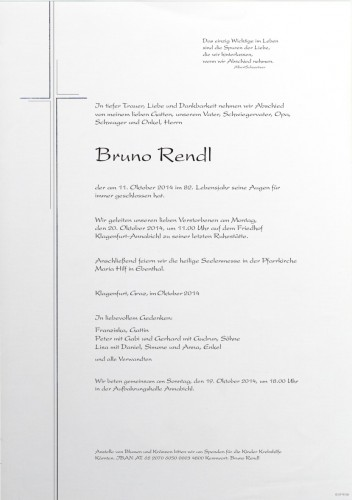 Bruno Rendl