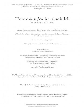 Peter Berend von Mohrenschildt