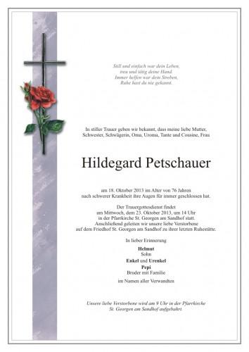 Hildegard Petschauer