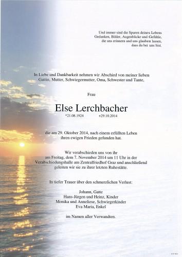 Else Lerchbacher