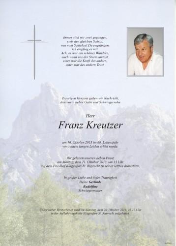 Franz Kreutzer