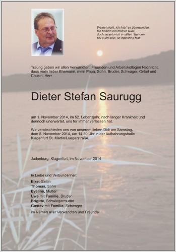 Dieter Stefan Saurugg