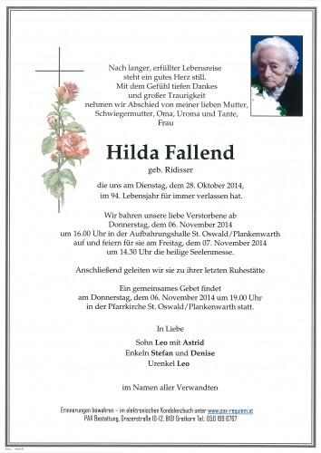 Hilda Fallend