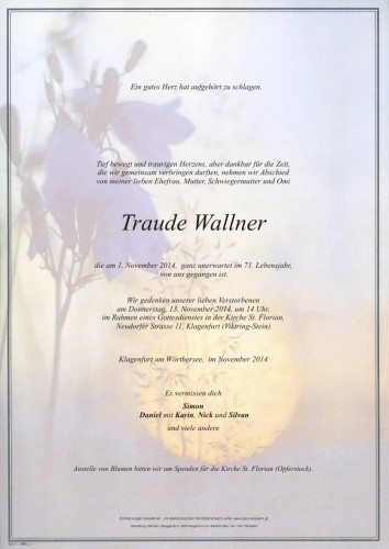 Traude Wallner