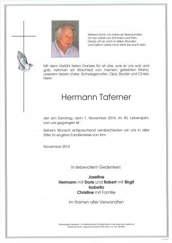 Hermann Taferner