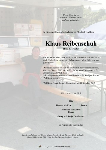 Klaus Reibenschuh