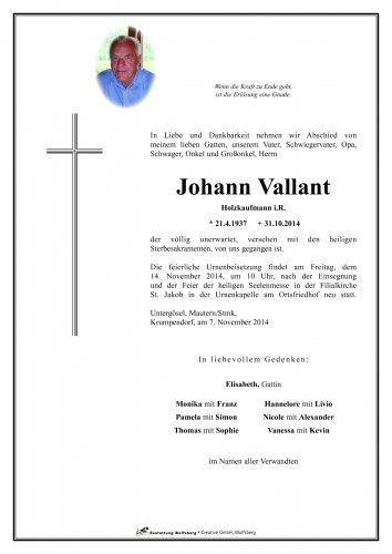 Johann Vallant