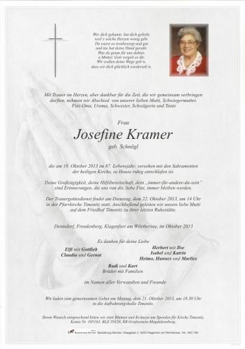 Josefine Kramer