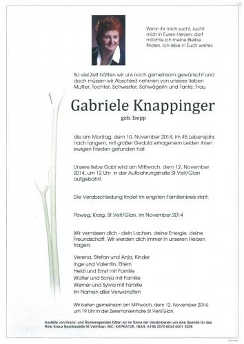 Gabriele Knappinger