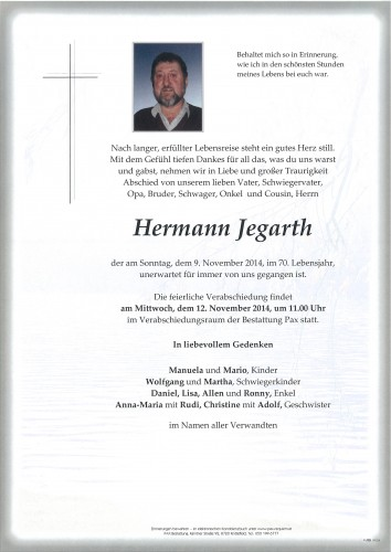 Hermann Jegarth