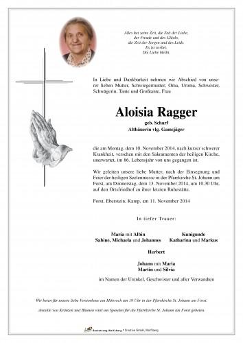 Aloisia Ragger