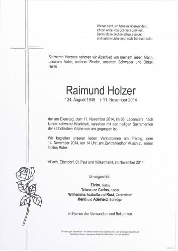 Raimund Holzer