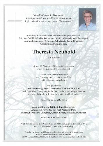Theresia Neuhold