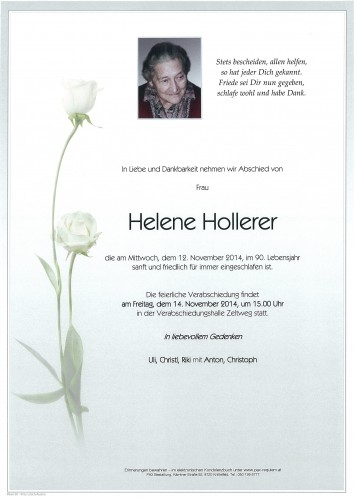 Helene Hollerer