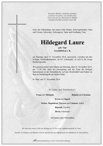 Hildegard Laure