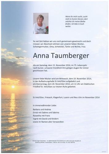 Anna Taumberger