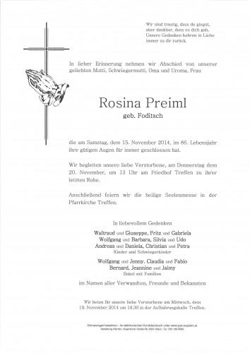 Rosina Preiml