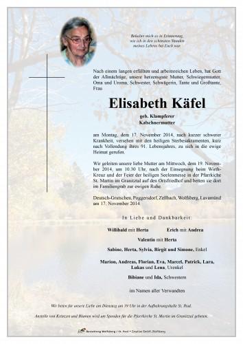 Elisabeth Käfel