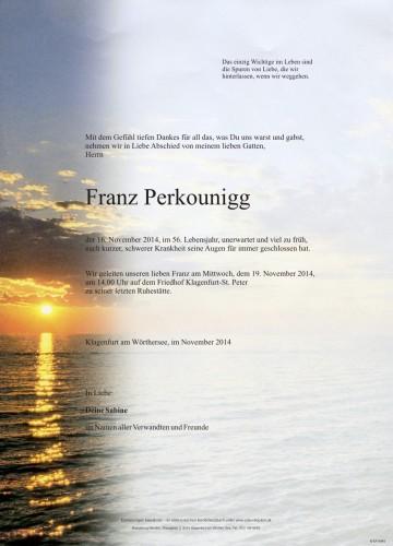 Franz Perkounigg