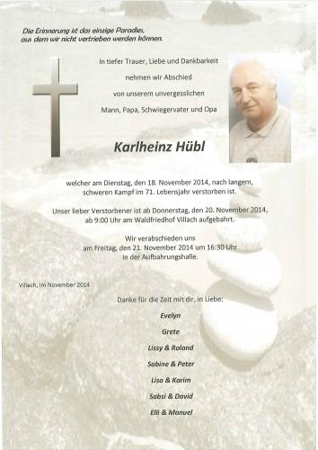Karlheinz Hübl