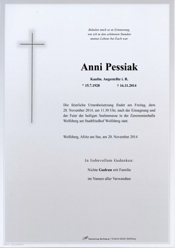 Anna Antonia Pessiak