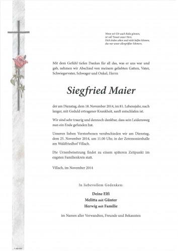 Siegfried Maier