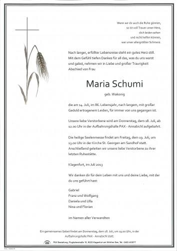 Maria Schumi